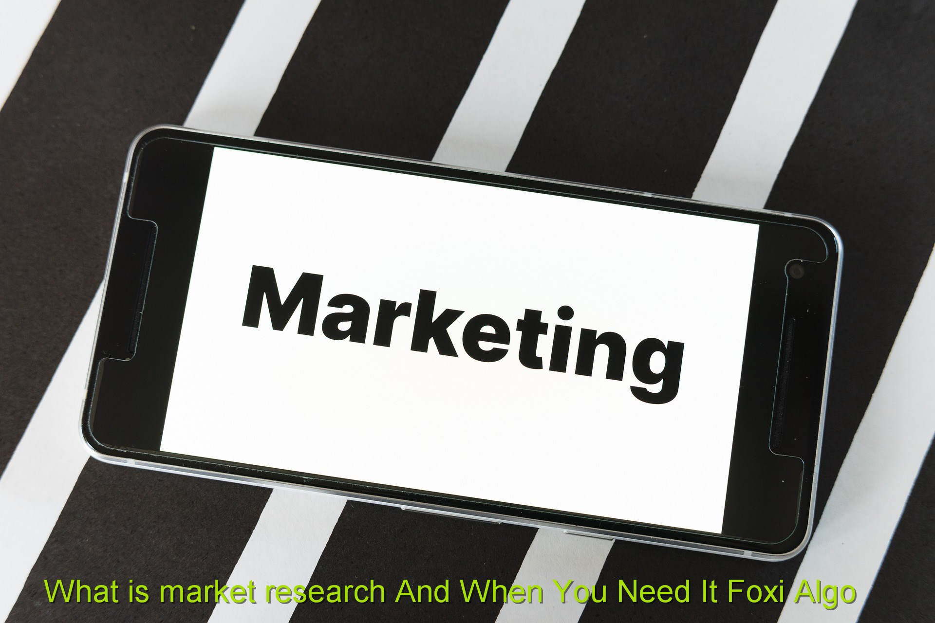 What is market research And When You Need It Foxi Algo