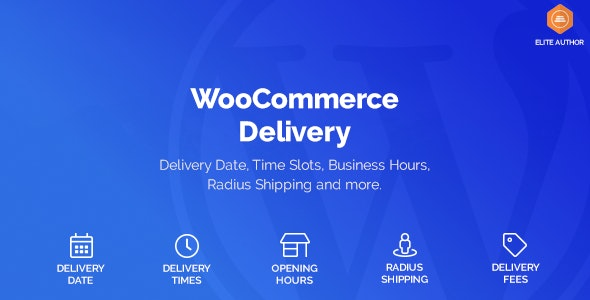 WooCommerce Delivery 1.1.18 – Delivery Date & Time Slots