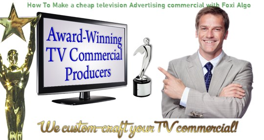 How To Make a cheap television Advertising commercial with Foxi Algo