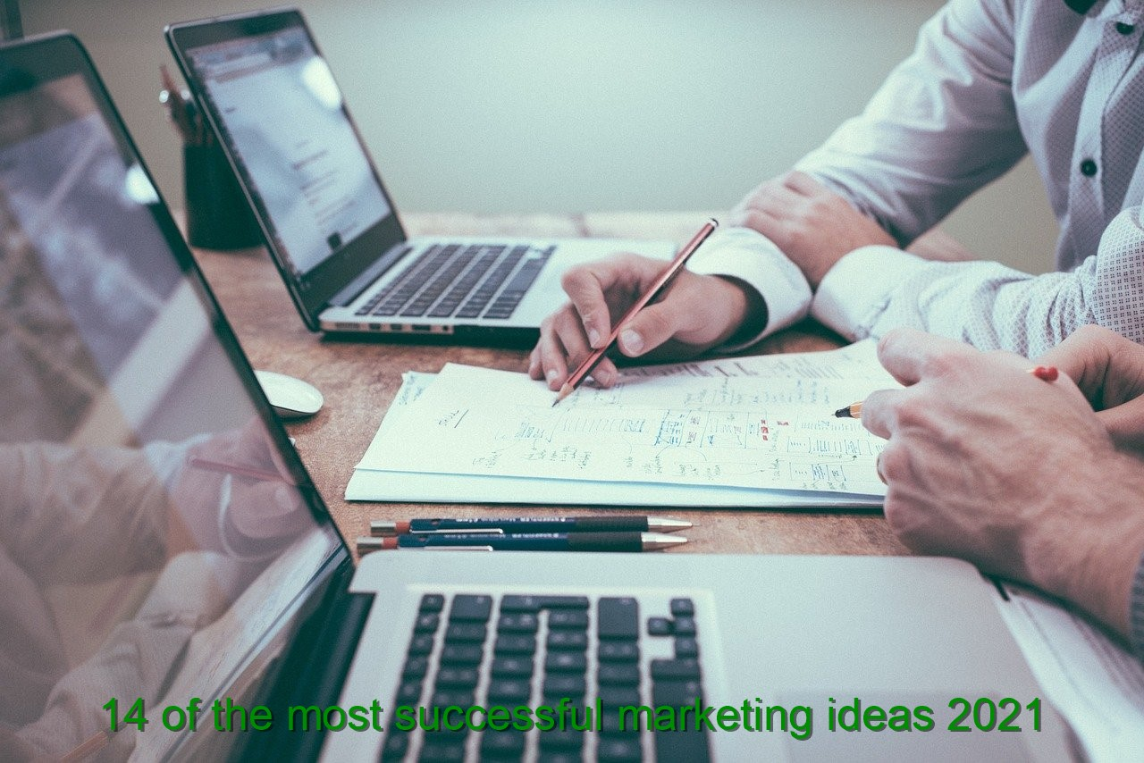 14 of the most successful marketing ideas 2021